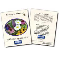 personalized seed packets custom imprinted seed packets as favors for weddings and business