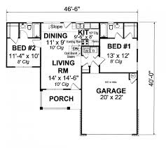 traditional 2 house plans 656036 traditional 2 bedroom 2 bath with split floor plan and