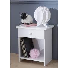 le de chevet chambre bébé table de chevet enfant blanc recherche chambre enfant