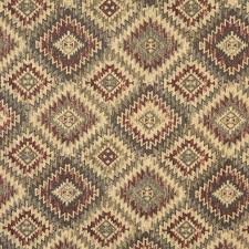 home decor fabrics by the yard burgundy beige and green diamond southwest upholstery fabric by