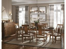 kincaid furniture cherry park formal dining room group belfort
