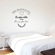 stickers phrase chambre stickers adhésifs de phrases sur l amour avec coeurs pour chambre