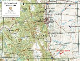 Red River New Mexico Map by Je Canyon Ranch U2022 Mirr Ranch Group