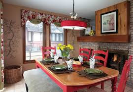 Curtains With Red Color Trends 2013 Red