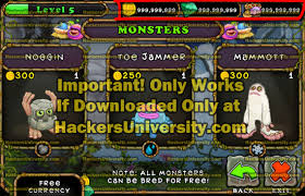 my singing monsters hacked apk my singing monsters hack get unlimited jewels coins car