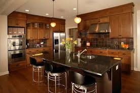 kitchen paint colors with oak cabinets countertop and dining best