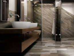 Rustic Bathroom Tile - captivating wood look tile bathroom and wood look tile backsplash