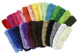 crochet headbands crochet baby headbands for 1 5 hair bands 28