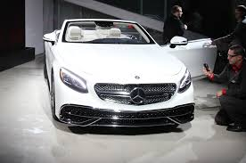 black and pink mercedes first look 2017 mercedes maybach s650 cabriolet automobile magazine