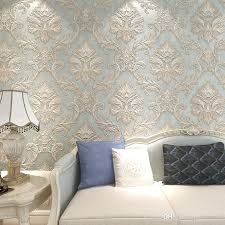 3d Wallpaper For Bedroom 10m 53cm Vintage Villa Continental Palace Luxury Style Big Flowers