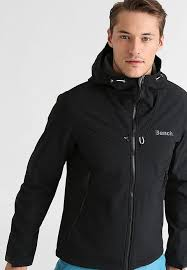 bench clothing mens discount trendy mens clothing bench path soft shell jacket black
