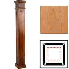 cherry wooden column wraps 8