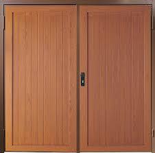 wood composite garage doors grp side hinged garage doors anglian home