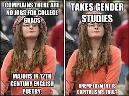 Communication Major Meme - what happened to all those unemployable women s studies majors