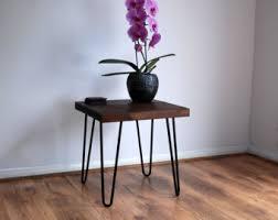 vintage hairpin table legs rustic vintage industrial solid wood coffee table bare metal