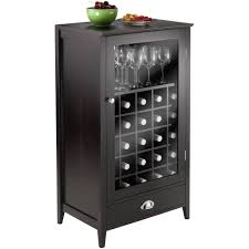 bordeaux modular 25 bottle wine cabinet walmart com