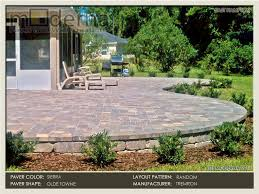 Raised Paver Patio Jacksonville Paver Photos 3 Jacksonville Paver Portfolio