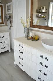 Repainting The Vanity Review Of My Chalk Painted Bathroom Vanities