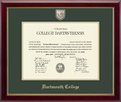 college diploma frames dartmouth college diploma frames church hill classics
