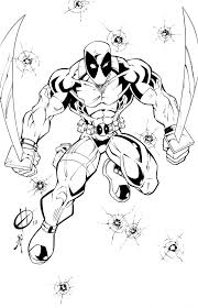 exceptional spiderman coloring book pages colouring pages 9