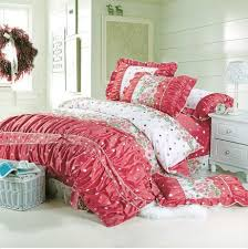 Monogrammed Comforter Sets Red Polka Dot Comforter 2830