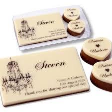 wedding chocolates designer wedding chocolates chandelier themed place cards
