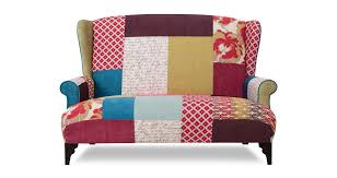 sofa patchwork shout midi high back sofa shout patchwork dfs