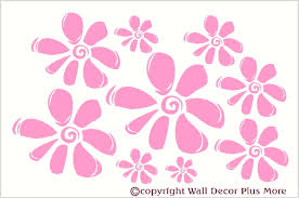 floral1 flower leaf u0026 vine wall art decals stickers 15x16