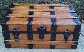Decorative Trunks For Coffee Tables Photo Of Antique Trunk Coffee Table Steamer Trunk Coffee Tables