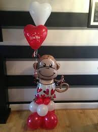 Balloon Decoration For Valentine S Day by 121 Best Balloons Valentine U0027s Day Images On Pinterest Balloon