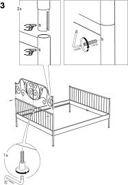 download ikea leirvik bed frame full queen u0026 king assembly