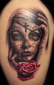 pain is love jesus cross tattoo design