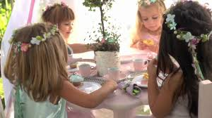 how to make a fairy birthday party flower crown pottery barn
