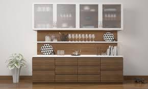 crockery cabinet designs modern l shaped crockery unit google search crockery lanzaroteya kitchen