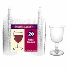 5 5 oz clear wine glasses set of 20 elegant gifts