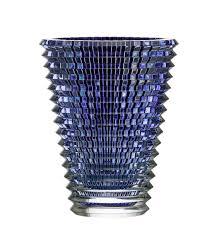 Cobalt Blue Crystal Vase Baccarat Crystal Eye Xl Oval Crystal Vase Blue