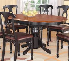 Pedestal Dining Room Sets by Maddox Round Cherry Finish Pedestal Dining Table