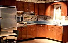 a couple of 1960s kitchens found in mom u0027s basement
