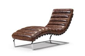 Leather Chaise Lounge The Leather Chaise Lounge And