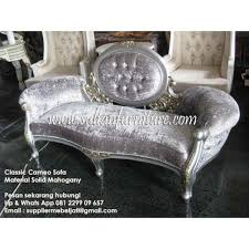 Modern French Jepara Furniture Cameo Classic Sofa Modern Cameo - Cameo sofa