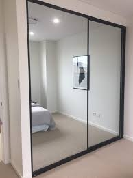 Closet With Mirror Doors 3 Door Sliding Bypass Closet Doors Ikea Pax Mirror Interior Lowes