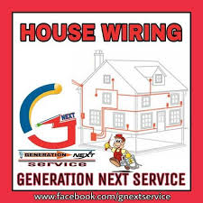 house flats building electrical wiring installation in