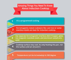 Induction Cooktop Temperature Settings Amazing Things You Need To Know About Induction Cooktop Infographic