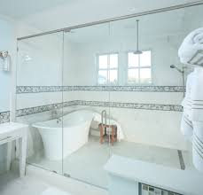 Bathroom Shower Stool Frameless Shower Doors Bathroom Beach Style With Walk In Showers