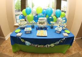 baby shower ideas for boy simple baby shower table decorations cheap you could make