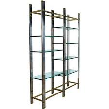 Silver Bookcase Vintage U0026 Used Silver Bookcases And étagères Chairish