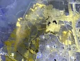 California Wildfire Satellite View by Digitalglobe Satellite Captures Dramatic Images Of Alberta Canada