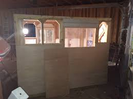 fish house floor plans 2015 ice shack build from start to finish materials list