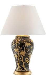 comfort rl15032bkp ralph lauren gable table lamp in black and gold