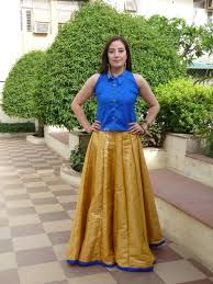 silk skirt silk skirt with blue top enrootz